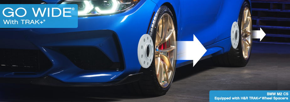 Go Wide® With TRAK+ Wheel Spacers